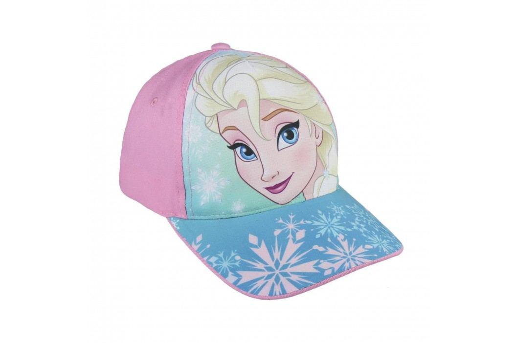 Disney Brand Dívčí kšiltovka Frozen - růžová