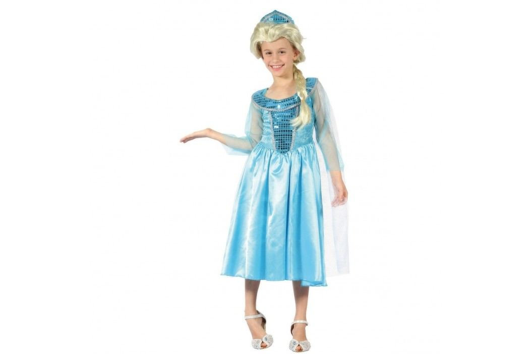 MaDe Šaty na karneval - Ledová princezna, 120-130 cm