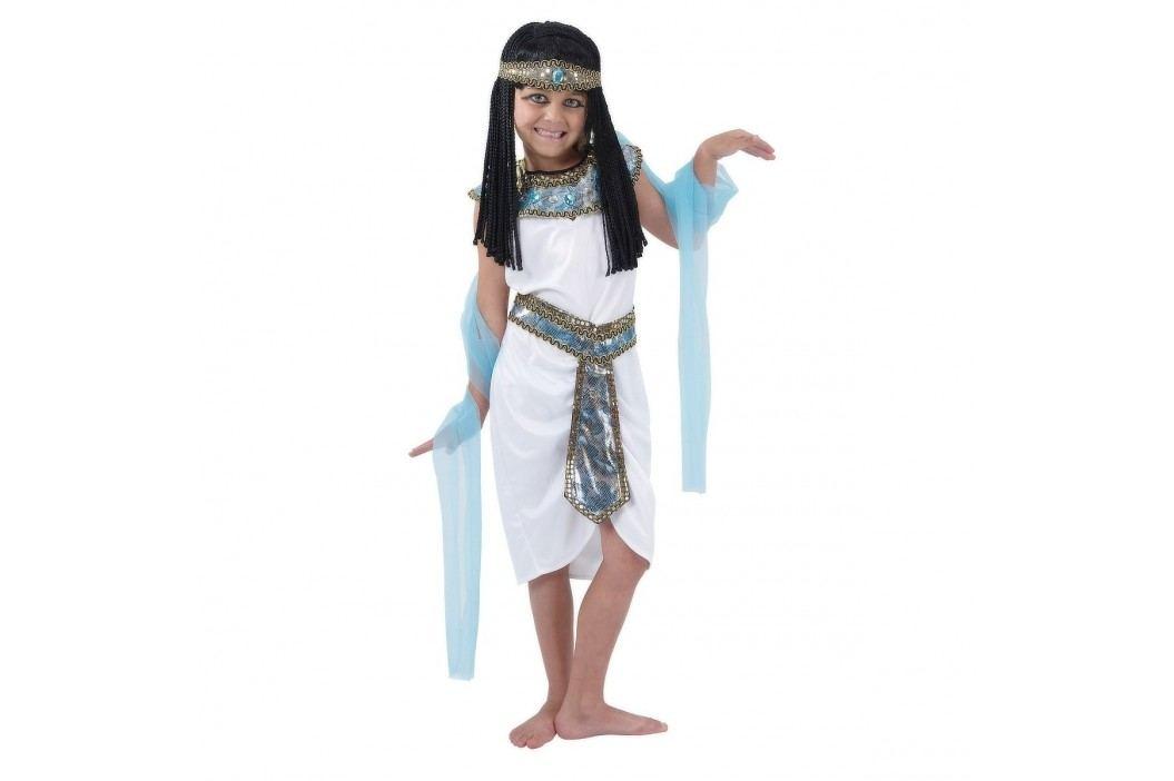 MaDe Šaty na karneval - Egyptská královna, 120 - 130 cm