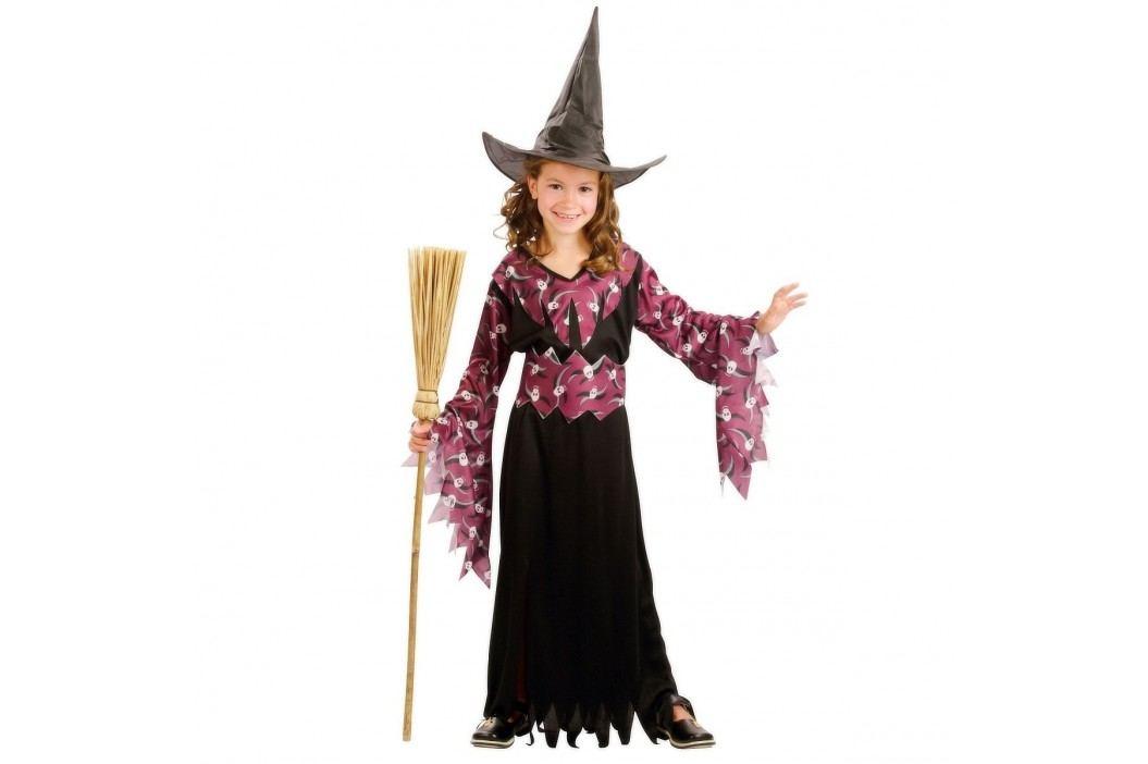 MaDe Šaty na karneval - Čarodějka, 120 - 130 cm
