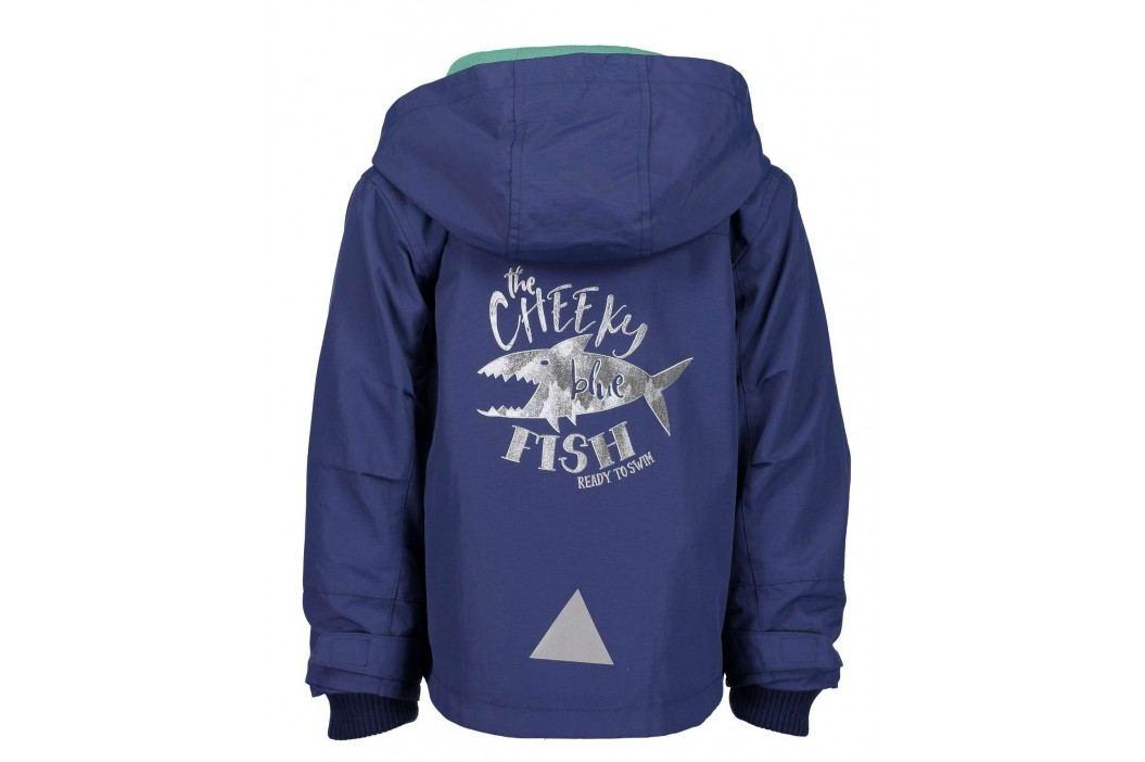 Blue Seven Chlapecká bunda se žralokem - modrá