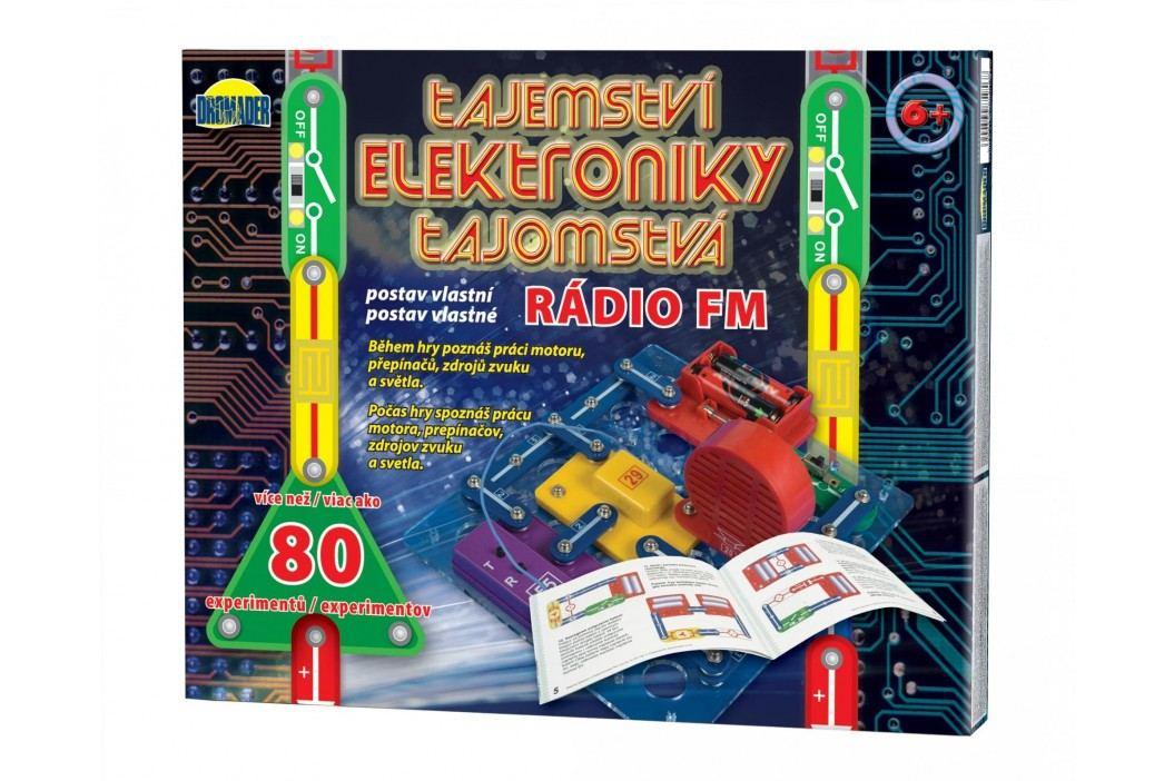 Teddies Tajemství elektroniky - Rádio 80 experim
