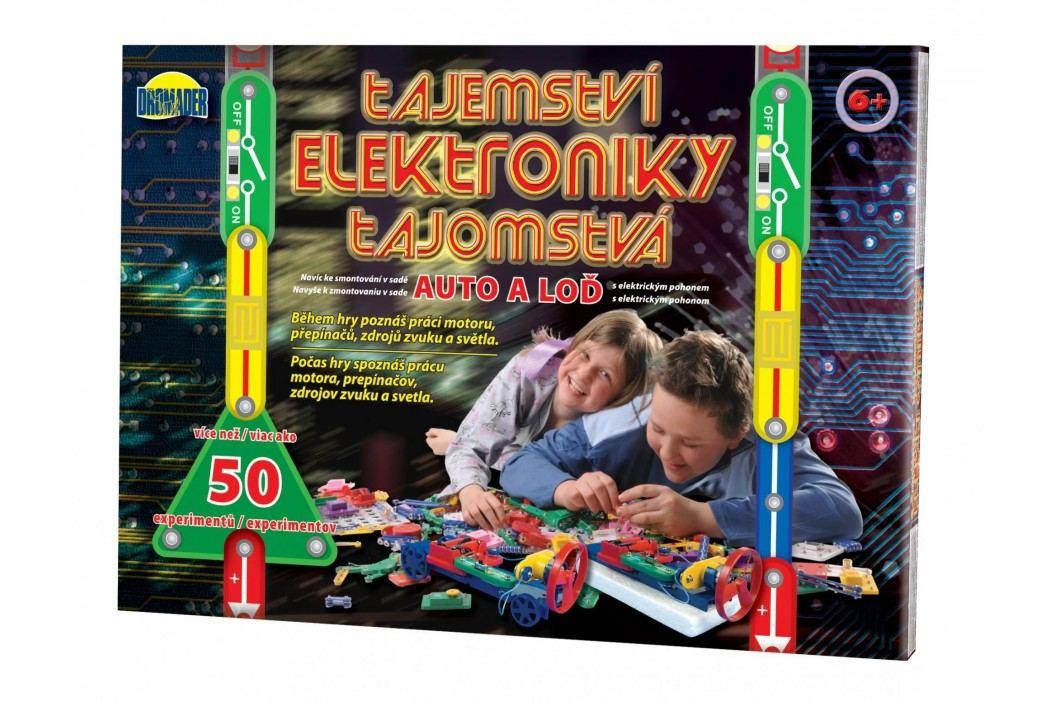 Teddies Tajemství elektroniky - Auto, loď 50 exp
