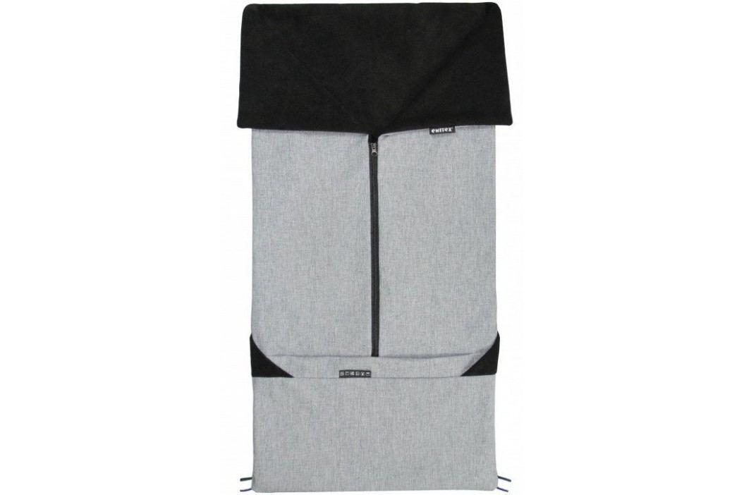 Emitex Fusak 2v1 SEBI, šedá/černá
