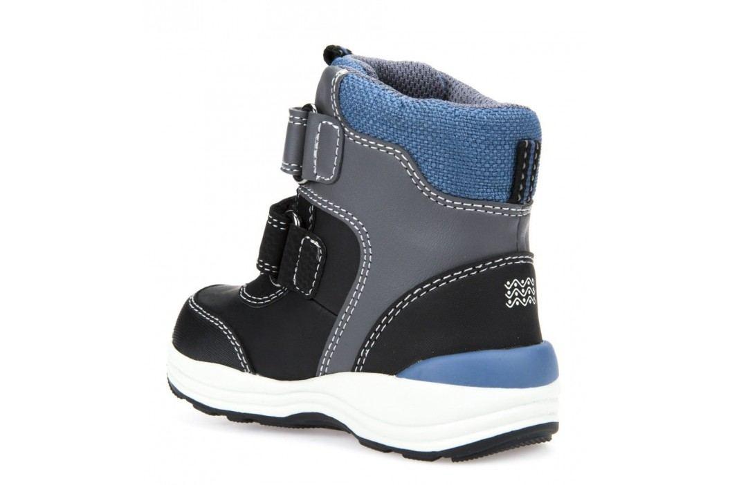 ... Geox Chlapecké zimní boty New Gulp - šedo-černé ... c75f8d1b6f