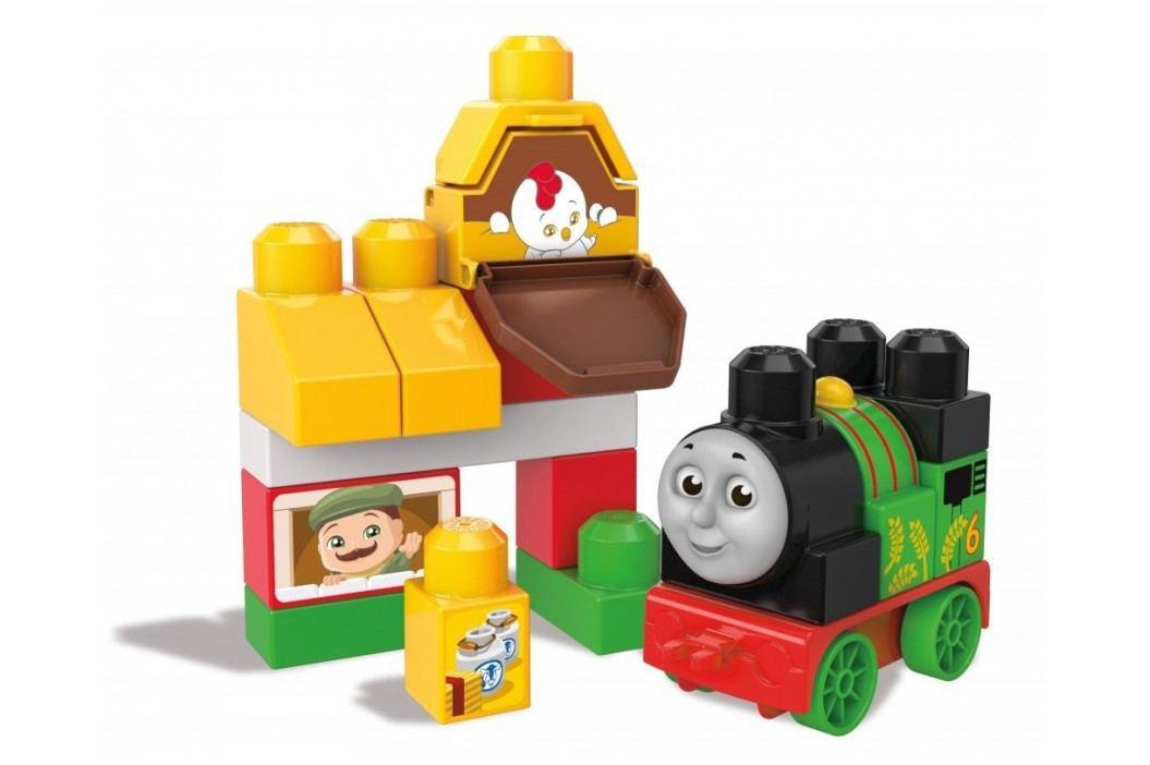 Mega Bloks Mašinka Percy na farmě