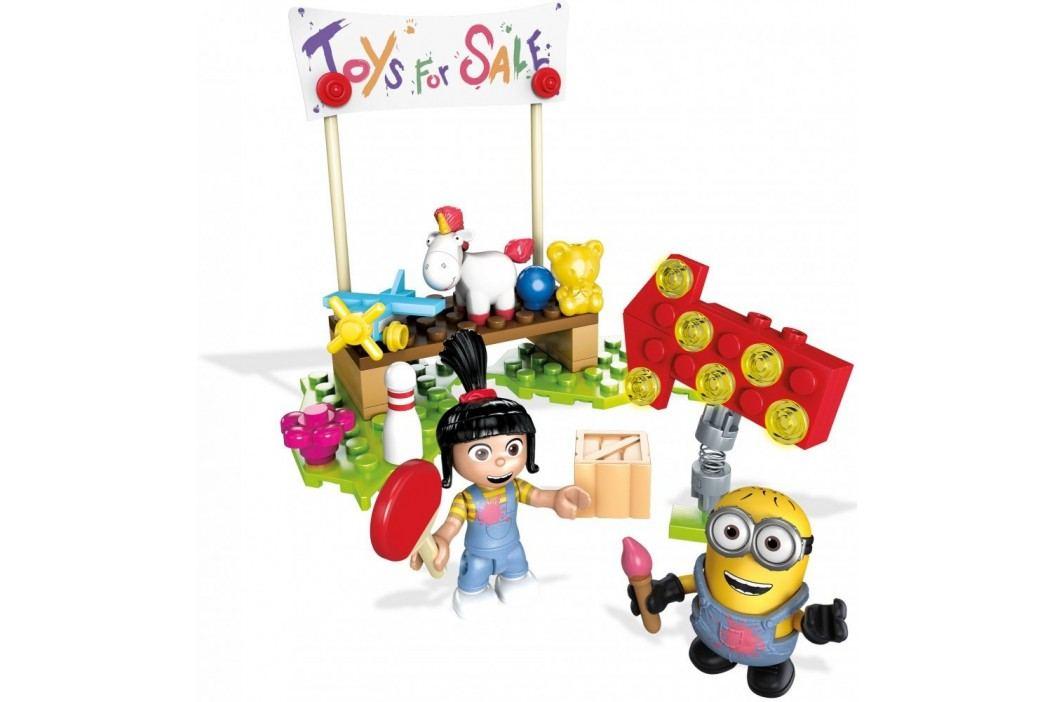 Mega Bloks Mimoňové Agnes prodává hračky