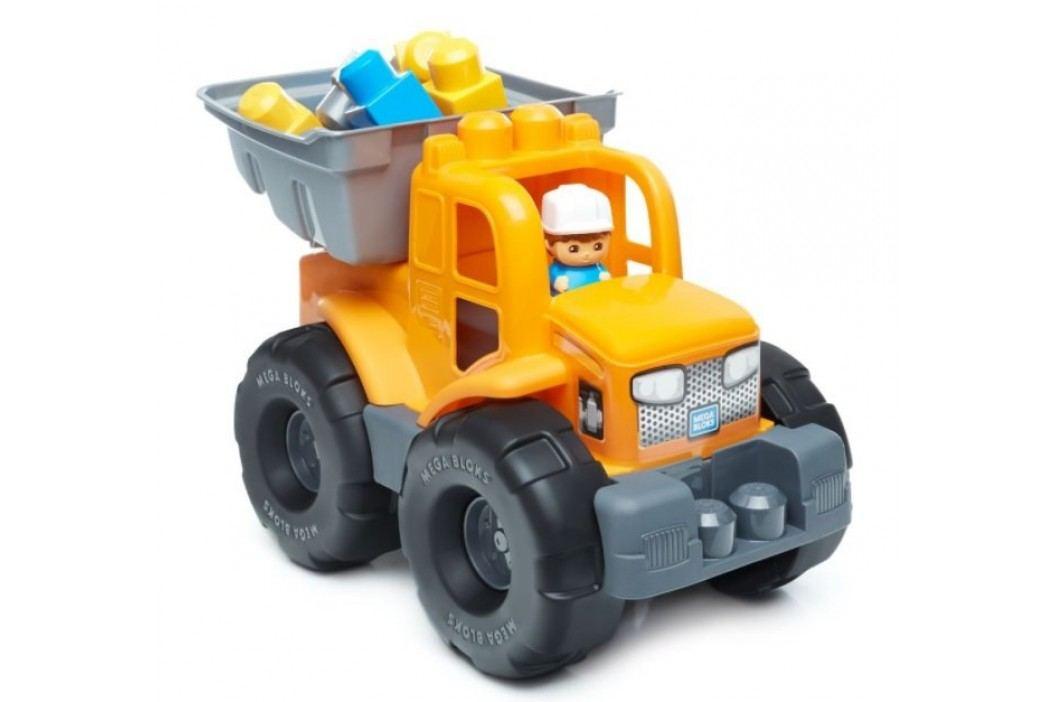 Mega Bloks Náklaďák 2v1 oranžový