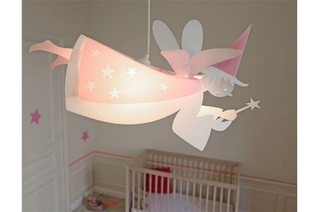 R&M Coudert Dětská lampa víla - růžová