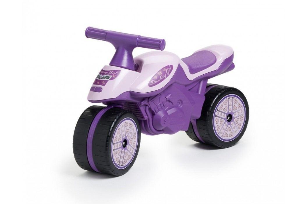Falk Odstrkovadlo - motorka fialová