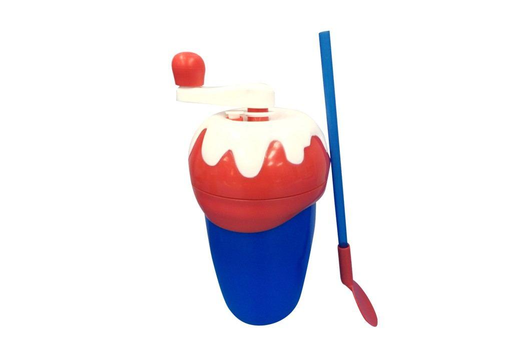 Chill Factor Milkshake Maker výroba mléčného koktejlu - červená/modrá