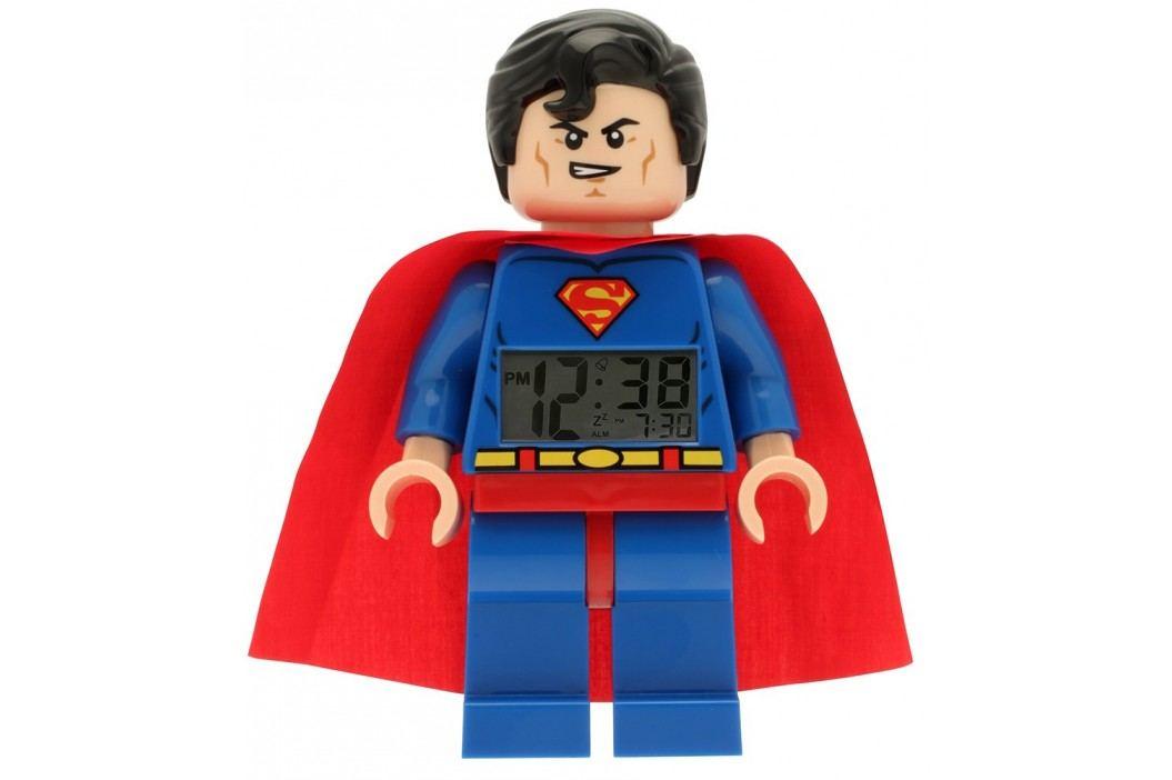 LEGO® Watch & Clock Dětské hodiny s budíkem DC Super Heroes Superman
