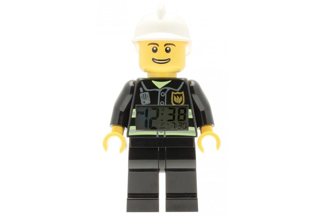 LEGO® Watch & Clock Dětské hodiny s budíkem City Fireman