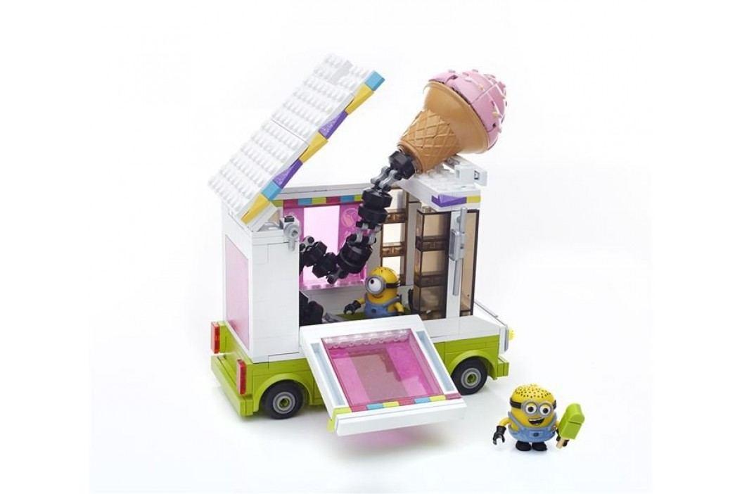 Mega Bloks Mimoni Zmrzlinářký vůz