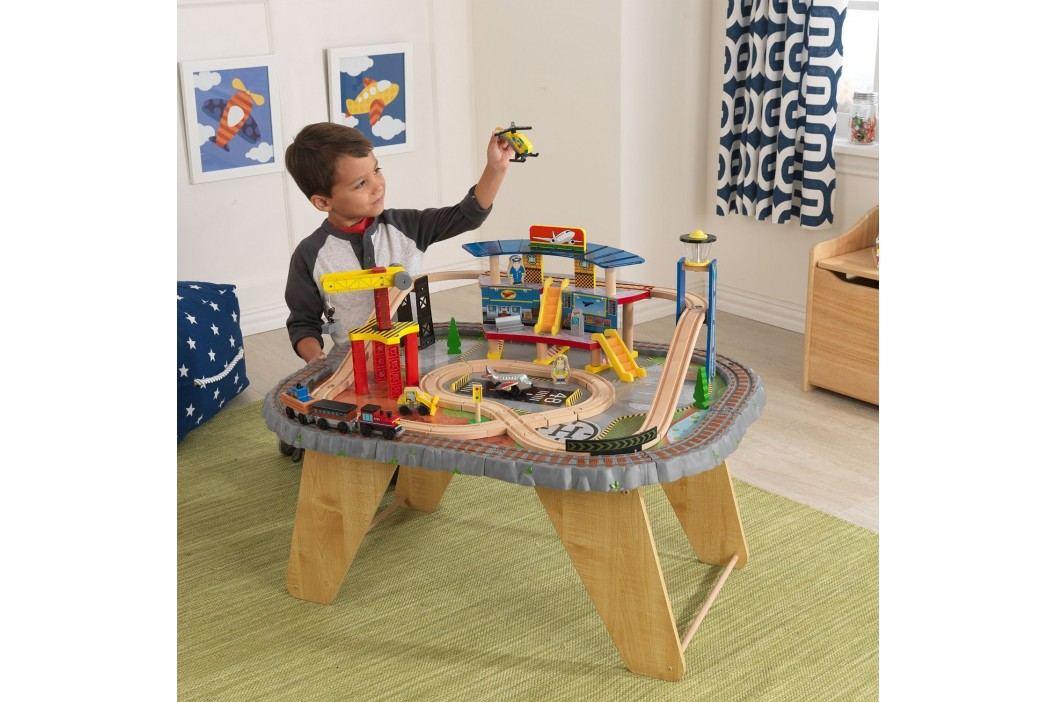 Kidkraft Dopravní a vlaková stanice na stole