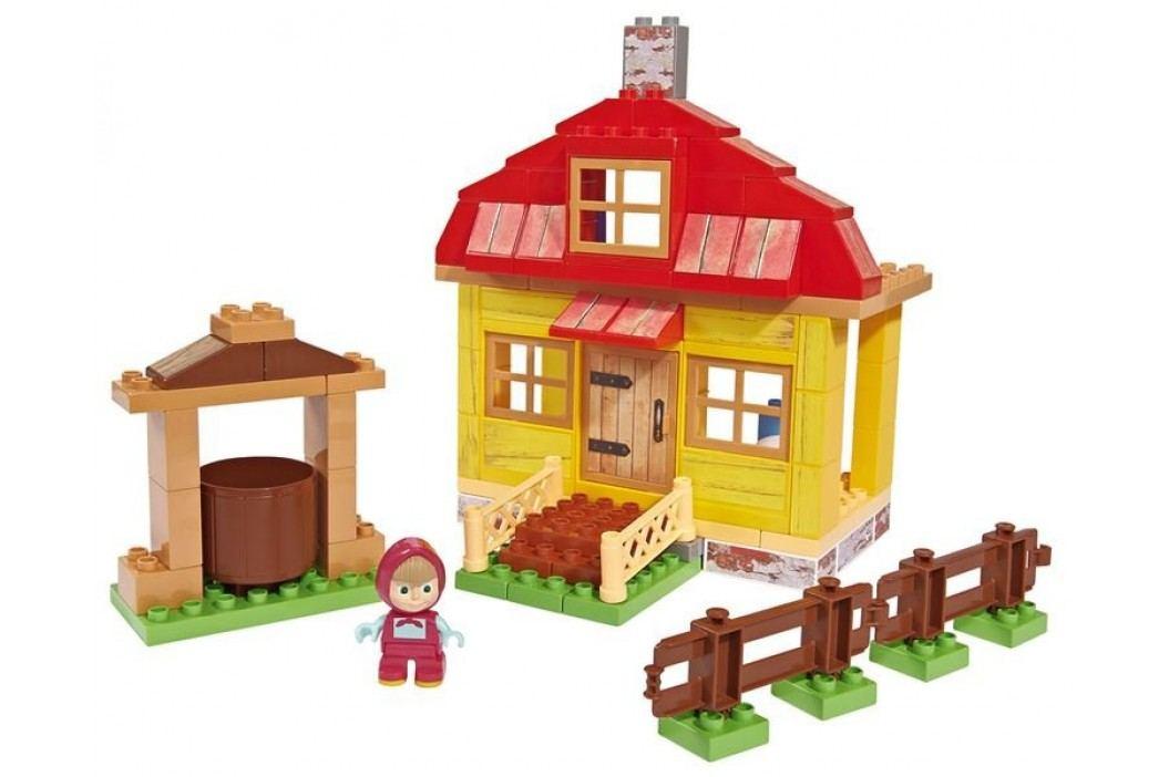 BIG PlayBIG Bloxx Máša a medvěd Mášin dům