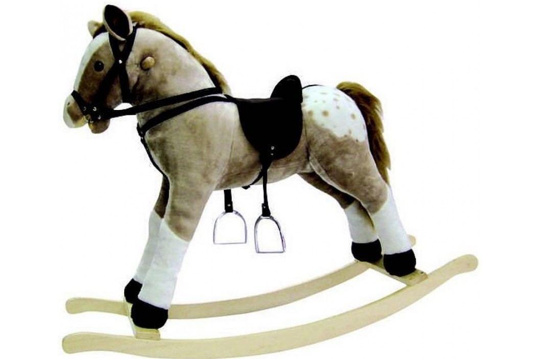 Bino Puntík houpací kůň plyšový, maxi
