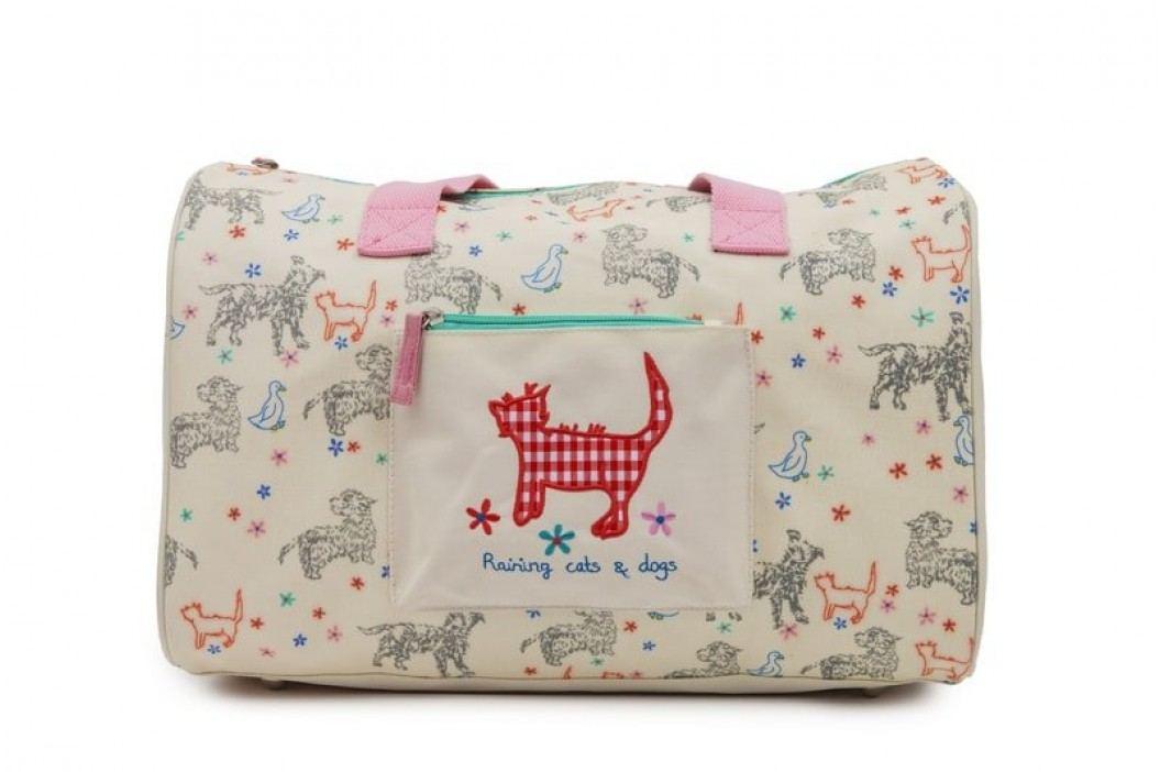 Pink Lining Cestovní taška pro děti - Raining cats and dogs