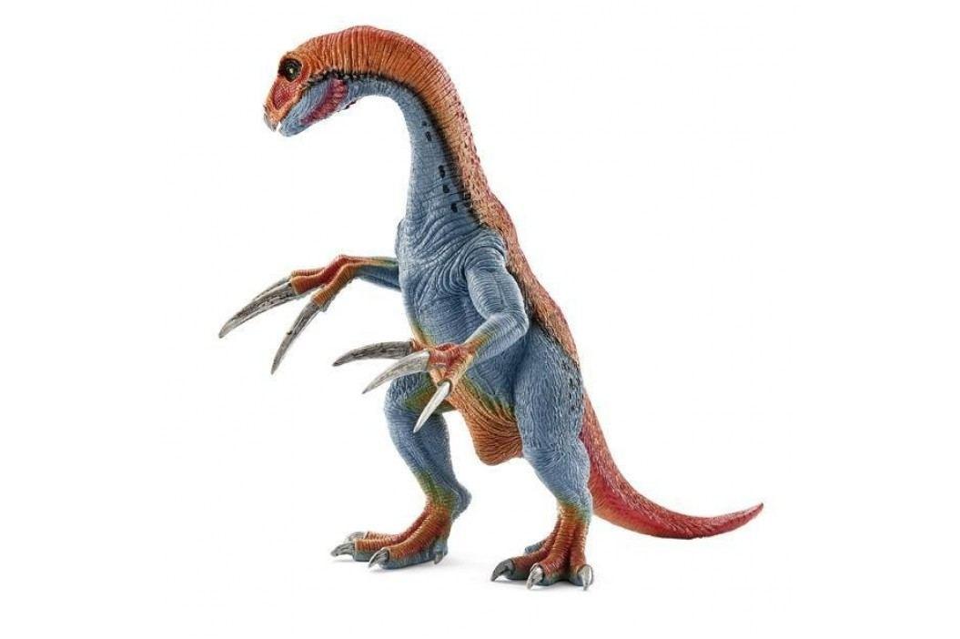 Schleich Prehistorické zvířátko - Therizinosaurus s pohyblivou čelistí a pažemi