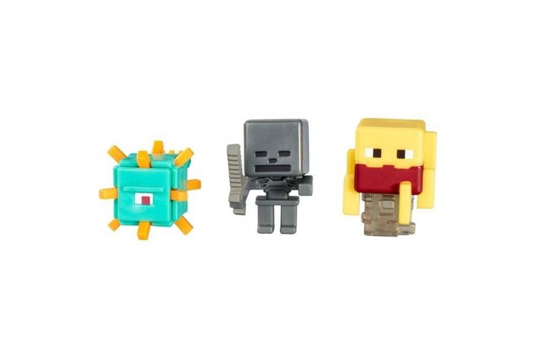 MATTEL Minecraft Minifigurka, 3 ks