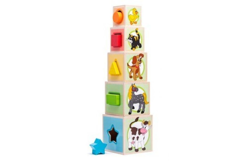Woody Věž z 5ti kostek