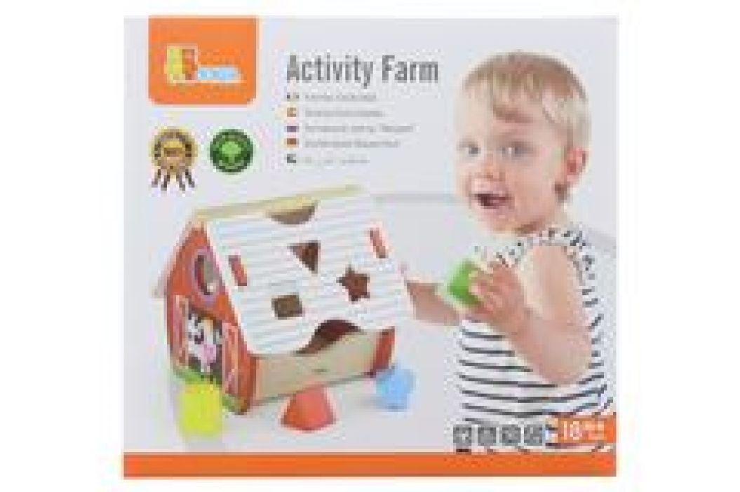 Viga Vkládačka s aktivitami farma