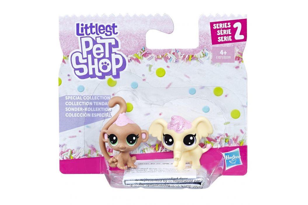 Hasbro Littlest Pet Shop Frosting Frenzy dvě zvířátka