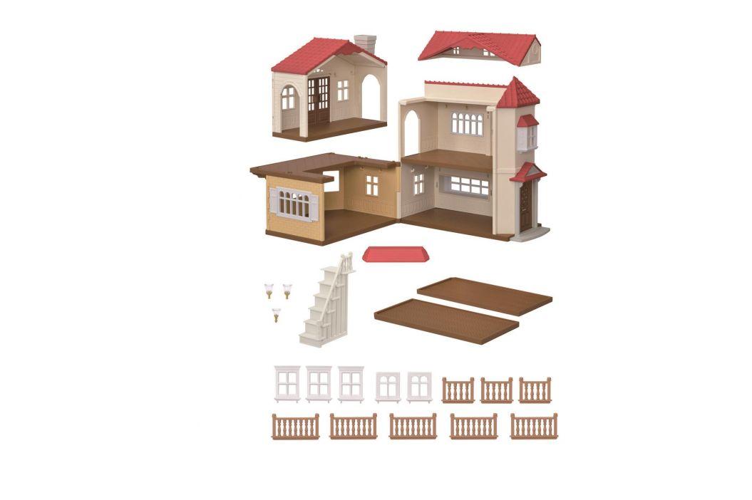 Alltoys Patrový dům s červenou střechou