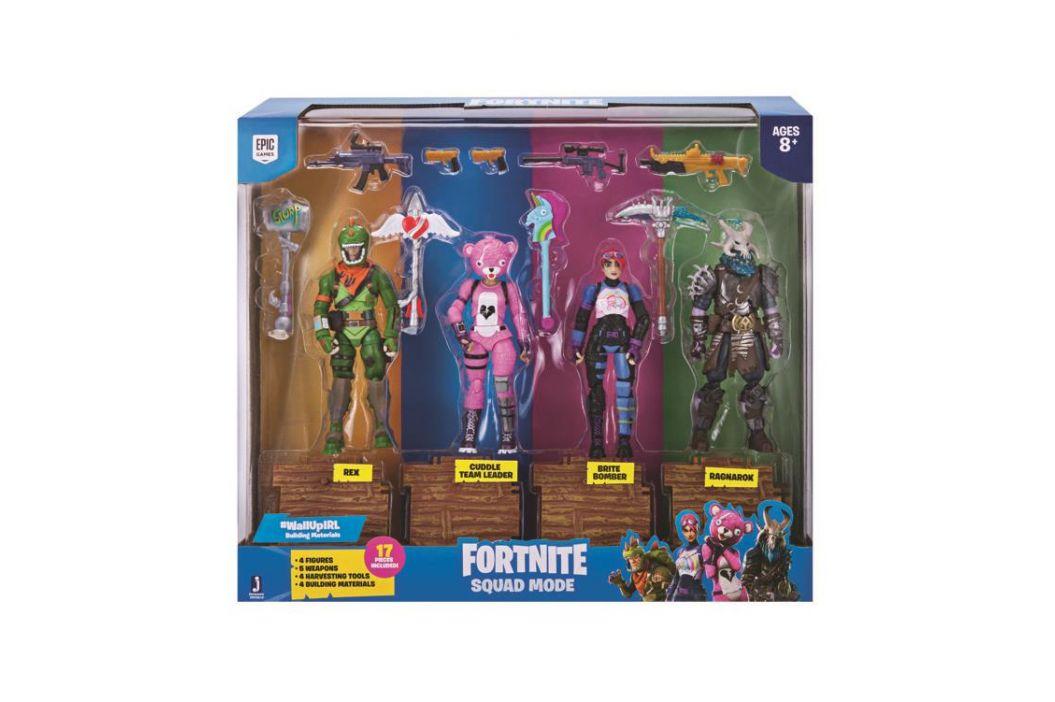 Alltoys Sada 4 figurky Fortnite Squad Mode