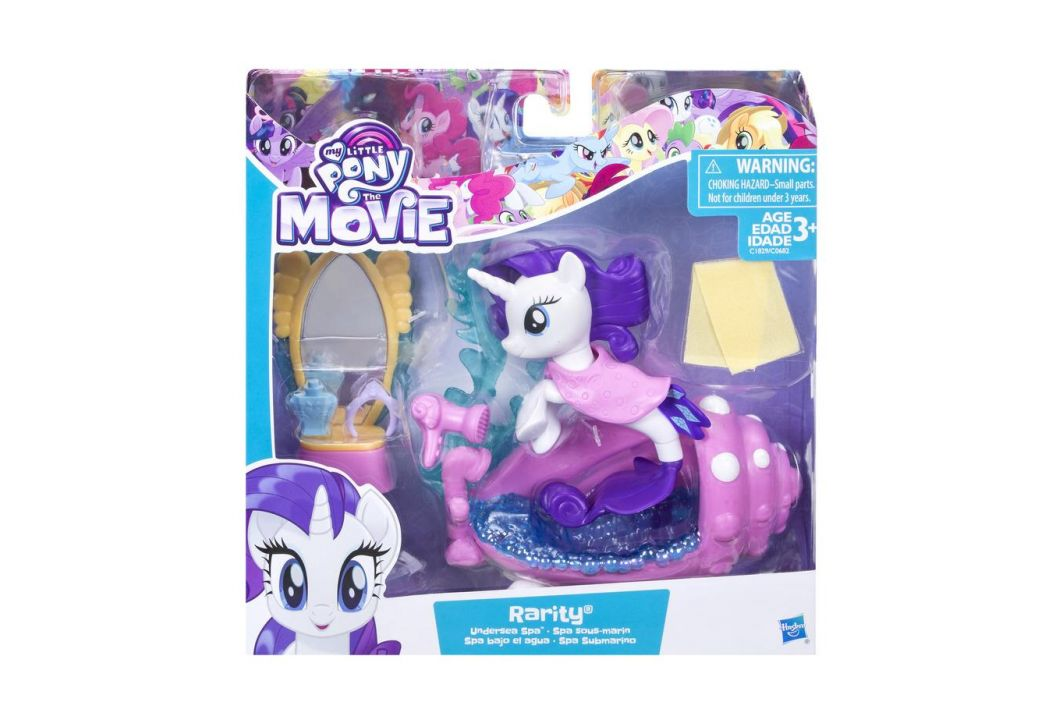 Hasbro Hasbro My Little Pony Podmořský hrací set s poníkem Rarity