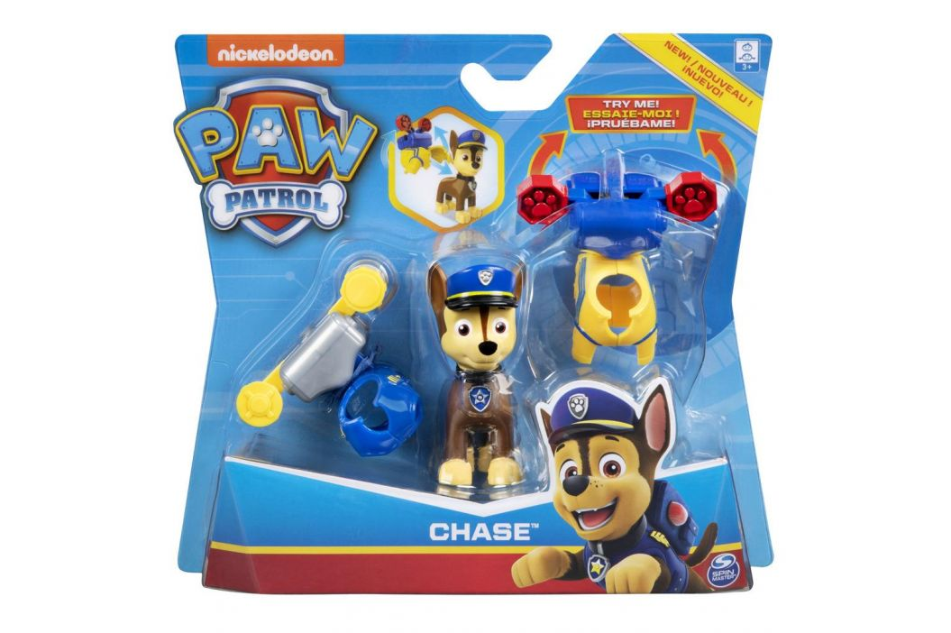 Spin Master Spin Master Paw Patrol Mini Air Rescue Rubble Pull Back Pup