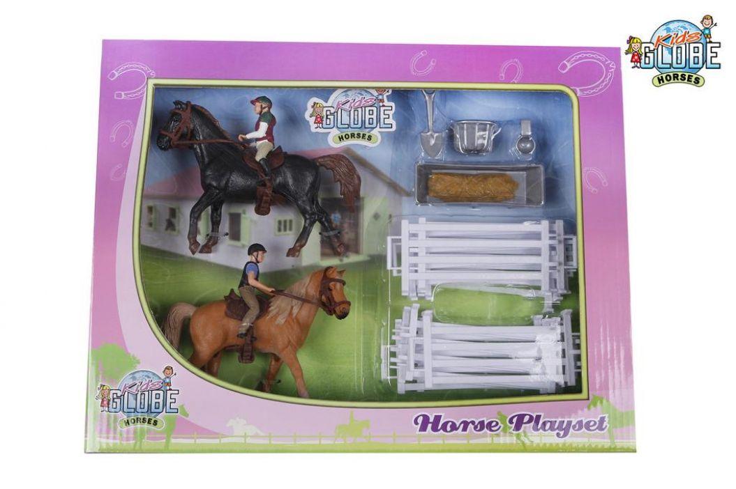 Alltoys Hrací sada jezdci s koňmi