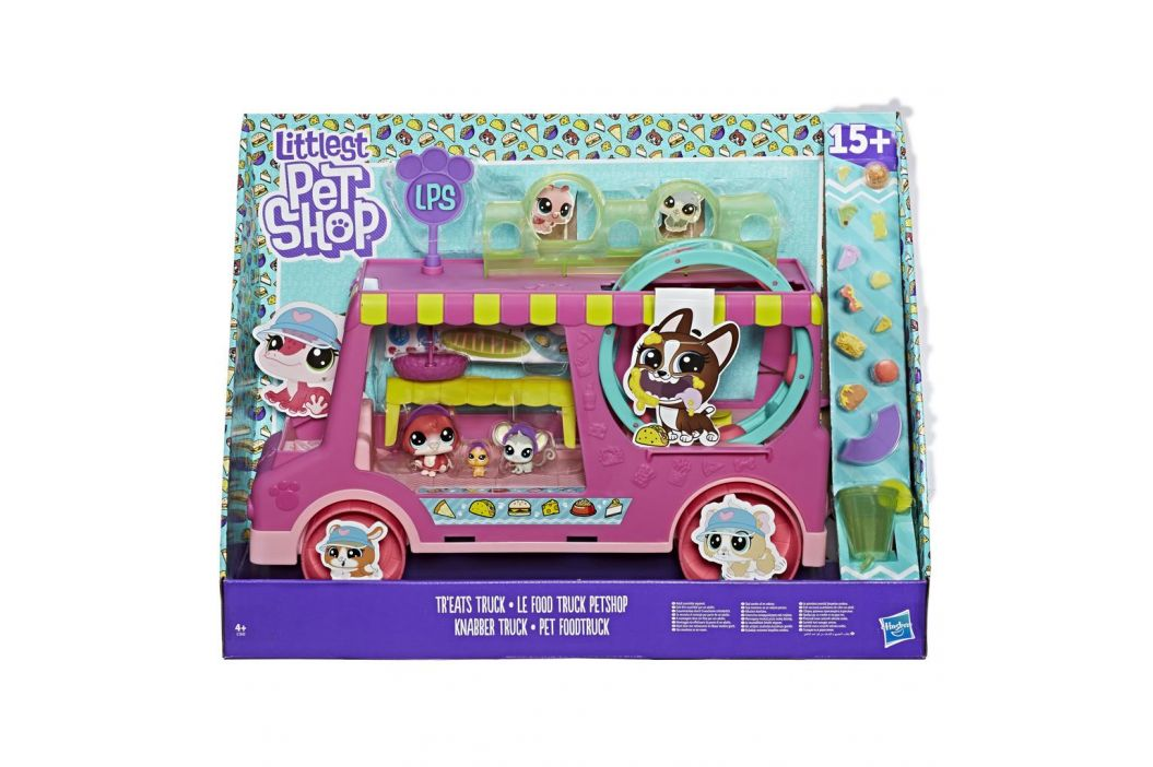 Littlest Pet Shop Hasbro Littlest Pet Shop Set cukrářský vůz