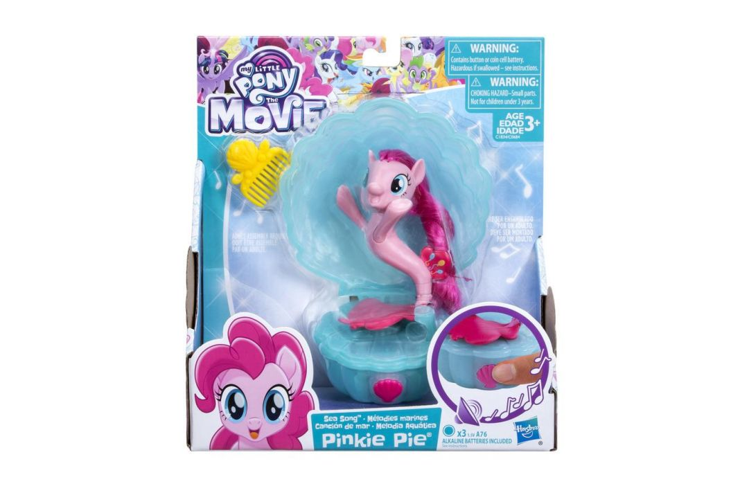 Hasbro My Little Pony Zpívající mořský poník 7,5 cm s doplňky