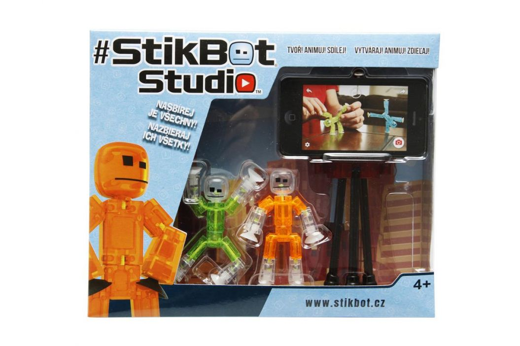 Alltoys Stikbot, 2 pack se stativem