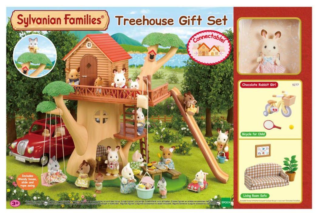 Alltoys Dárkový set - Dům na stromě s příslušenstvím