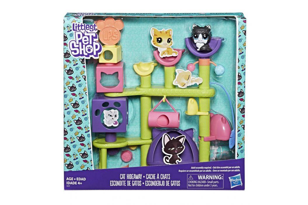 Hasbro Littlest Pet Shop Set kočičí domeček