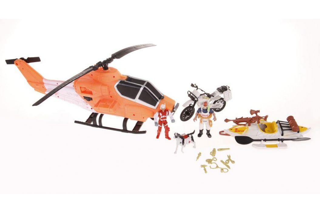 Alltoys Záchranářský set s helikoptérou