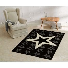Hanse Home Dětský koberec Hvězdy, 140x200 cm - černý