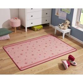 Hanse Home Dětský koberec Srdíčka a kytičky, 100x140 cm - růžový