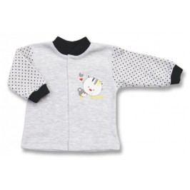 Lafel Dívčí kabátek Kitten - šedý