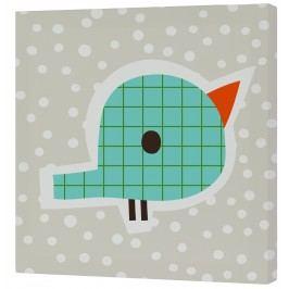 Baleno Nástěnný obraz Drops - ptáček, 27x27 cm
