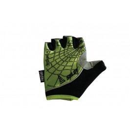 Sulov Cyklistické rukavice Twist Gel, zelené - velikost M
