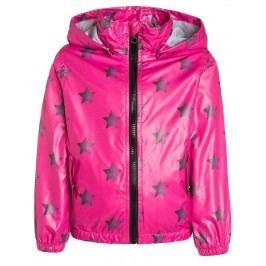 Blue Seven Dívčí bunda s hvězdičkami - růžová