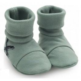 Pinokio Chlapecké ponožky/capáčky Xavier - zelené