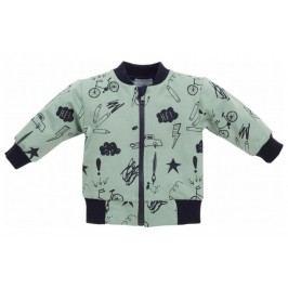 Pinokio Chlapecký kabátek Xavier - zelený