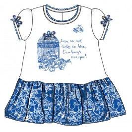 Mix 'n Match Dívčí šaty - bílo-modré