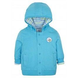 G-mini Chlapecký oboustranný kabátek Vlček - modrý