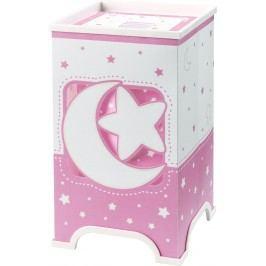 Dalber Dětská stolní lampička LED Moon Pink