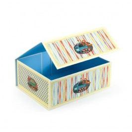 Djeco Krabička na hračky - Auto